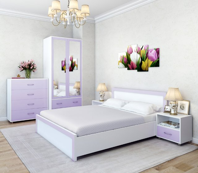 Маленькая спальня. Приемы визуального увеличения пространства