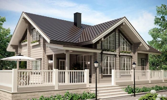 Проекты домов от Эко Хаус