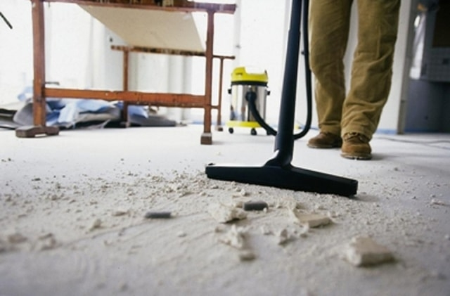 Качественная уборка помещения после ремонта