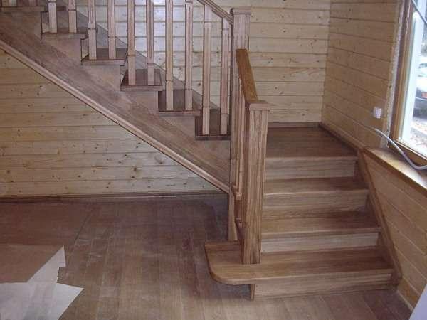 Где заказать лестницу из дерева в Тюмени