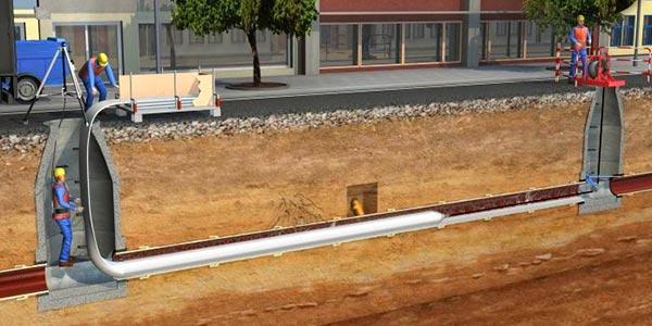 Качественный бестраншейный ремонт трубопроводов разного назначения