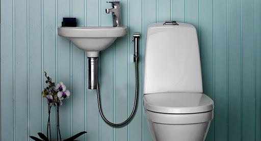 Покупайте смеситель с гигиеническим душем здесь