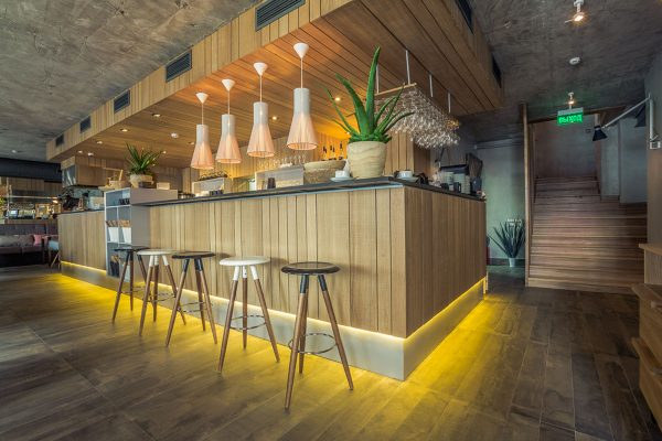 Создание дизайна интерьера для суши-баров, кафе, ресторанов и прочих заведений общепита